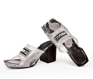 Versace slipper Transparent Femmes Femmes d'âge Sandales à talon, talon haut Slides Mulets PVC Haute avec semelle en cuir Made in Italie Taille 35-43