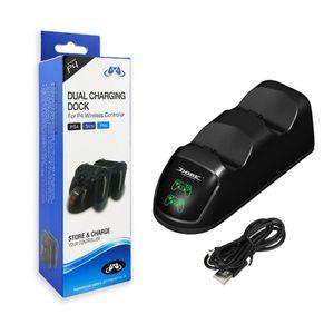 DOBE Dual-Ladestation für PS4 nehmen Pro Wireless Controller Docking Station USB Dual Charger Dock TP4-889