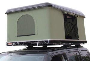 Автомобиль на крыше палатки 2-3 человек Hard Shell Automotive Rooftop Tent с лестницей