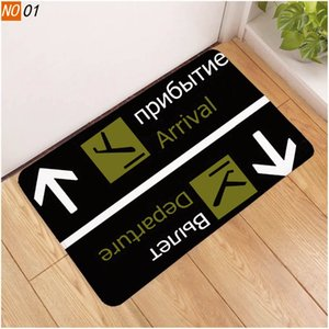New funny mat new anti-skid Interesting antiskid air arrival indoor outdoor entrance decorative mat anti-skid