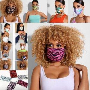 New Face Luxo Máscara Print Designer Mouth máscara máscaras Mulheres Homens Outdoor Ciclismo respirável Adulto ReusableWashable WX20-49
