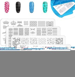 Nail Printing Set 8PCS 8ml Printing Gel Oil Nail Kit Board Art Stamping Templates Manicure Tools Kit