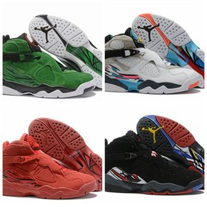 New Fashion 40-46 Cheap sale online New Hot Sale inJordan8 Retro Top quality Basketball Shoes trainer running shoes