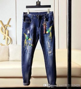 20 the new brand fashion European and American Autumn And Winter men's wear mens skinny jeans men s designer shorts pants