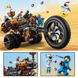 LP45011 Movie beard just small particles of heavy metals in three-wheeled motorcycle puzzle assembled model building blocks
