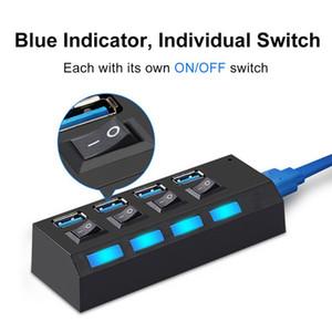 USB-концентратор USB 3.0 разветвитель несколько USB-концентратор Multiple 4/7 Порт Аввы распиловки адаптер с питанием хаб для ПК