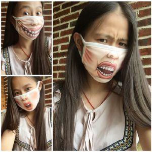 10pcs Моющихся Забавного мультфильма PIG лицо Роты маска против пыли PM2.5 Хлопка лица Маски для лица Рот многоразовых мод Рот маски