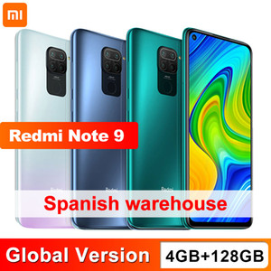 "Globale Version Redmi Anmerkung 9 128GB 4GB Smartphone Helio G85 Octa-Core 48MP Quad-hintere Kamera 6.53"" DotDisplay 5020mAh"