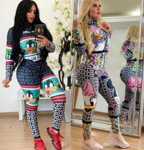 Womens jumpsuits rompers playsuit long sleeve jumpsuits fashion letter print bodysuit jumpsuit womens clothing clubwear klw2487