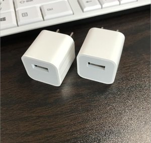 OEM de DHL 100pcs original A +++ calidad 5V 1A 5W EEUU / UE Plug adaptador USB de alimentación de CA del cargador de la pared del adaptador A1385 A1400 Con caja al por menor