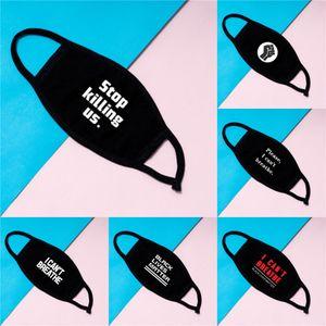 Face Mask With Breathing Valve Washable Sponge Mask Reusable Pm2.5 Protective Masks Black Recycle Designer Printed Mask Discount #423
