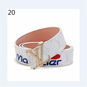 Hot Sale Mens Woman Belts Fashion Smooth Buckle Belt Highly Quality Come with Gift Box and Handbag
