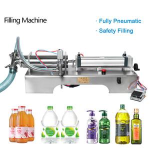 Totalmente neumática Liquid Filling Machine vino bebe el Sprays botella de perfume dispensador de relleno Cocinar la máquina de llenado de aceite