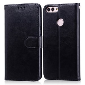 For Huawei P Smart 2018 Case FIG-LX1 Soft TPU Luxury Leather Wallet Flip Case For Huawei P Smart FIG-LX1 Phone Case 5.65 inch