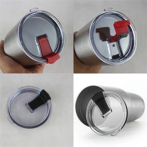 Ronde Organisateur Couvercles Jars transparent Mason Caches de bouteilles en plastique pour sceller la bande de 30 oz Coupe 2 20 onces 6sxa C2