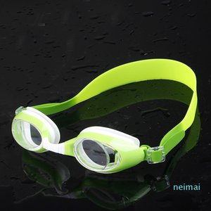 luxury- Children Swimming Goggles Waterproof UV Shield Anti-Fog Kids Unisex Fashional Eyeglasses Sport Water Sportswear Eyewear