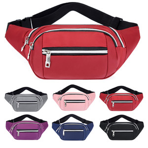 2020 Waist Bag Belt Men Women Fashion Sport Pouch On Handy Bum Bag Waistbag Fanny Pack Color Travel Accessory