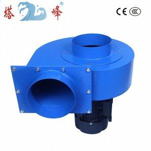 1.5kw 150 mm del diamter conducto de escape grande humo industrial centrfigual ventilación ventilador 380v 3ph motor 3Typ #
