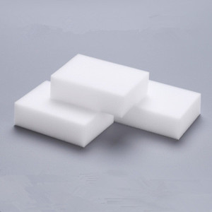 100Pcs Magic Sponge White Melamine Sponge Eraser For keyboard Car kitchen Bathroom Cleaning Melamine Clean High Desity 10x6x2cm EEA1892
