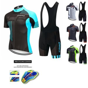 2020 CAPO Pro Cycling Maillots Summer Set Cyclisme Vêtements de montagne Vêtements de vélo Vêtements Vélo VTT Vélo Costume Vêtements