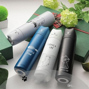 Tree Elves Bullet Insulated Tumblers Stainless Steel Wave Point Water Bottle Portable Vacuum Double Deck Cup Carry On Non Slip 16 5rmb1