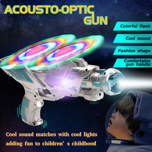 TW1908036 B O Double Fan Mechanical Gun with Sound Light Acousto-optic Gun