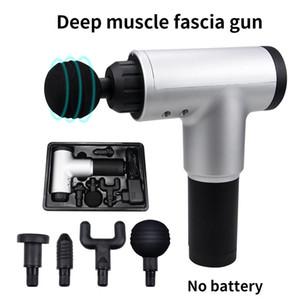 Мышцы высокого качества Массаж Gun Глубокий массаж Гимнастика Расслабление тела Фасциальная пистолет боли для похудения Shaping