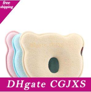 소프트 메모리 폼 아기 베개 창조적 인 곰 애플 모양의 쿠션 귀여운 통기성 아기 정형 베개 높은 품질 18jb BB