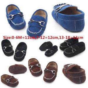 الأحذية والجلود طفل رضيع الخف الأول مشوا أحذية سوداء للجلد الوليد طفلا ل0 أطفال -1year بالجملة