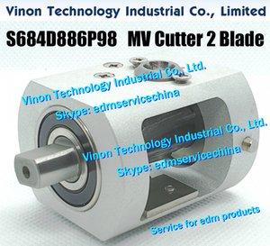 S684D886P98 MV Cutter électroérosion Unité 2 Lame M501A pour Mitsubishi MV1200, MV2400 Cutter Unit 277204, DFU5000, S684D887P67, 254168, DES9100, DES91A