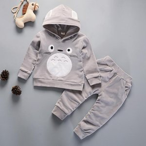 2020 new spring and autumn children's sports suit leisure style children's sweater suit two piece suit manufacturer's direct approval size 8