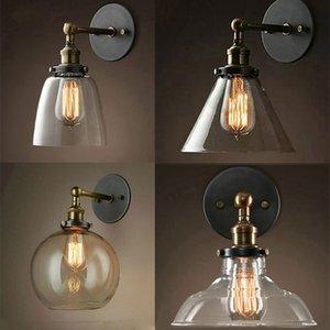 vintage luminaria led glass ball bedside bedroom aisle bedroom lamp lampara pared