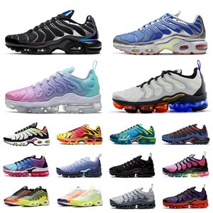 vapor nike air vapormax air max tn plus se scarpe da corsa Triple Nero Bianco Hyper Royal Be True Greedy tns chaussures outdoor uomo donna sneaker sportive sneakers 36-45