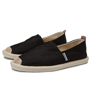 Pupuda Alpargatas hombres zapatos casuales zapatos de lona de Men ligero resbalón de lino Lofers transpirable zapatillas de deporte de verano 2020