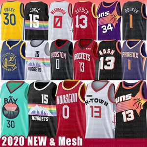Steve Nash 13 James Russell Harden Nikola 0 Westbrook 15 Jokic pallacanestro Jersey Rocket 30 Charles Barkley Stephen Curry Devin Murray Booker
