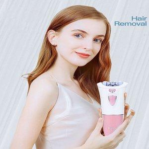 2016 Kemei 1999 Women Epilator Hair Remove Unwanted Hair On The Legs Face Armpits Bikini Depilator Line Personal Care Trimmer comecase uYVXa