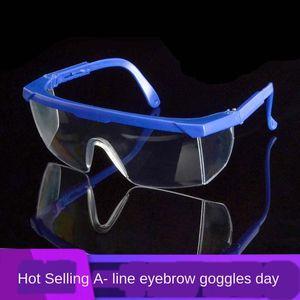 Dgv02 보호 안경 안티 - 충격 일회용 생활 방수 연마 노동 보호 타고 안전 작업 보호 고글 트랜스 고글