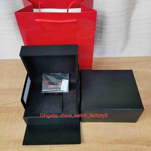 Cuero de la tarjeta de regalo alta calidad vendedora caliente TU Herencia original Seguir papeles de las cajas cajas de madera de 0,8 kg Para Pelagos FastRider Relojes de Ranger