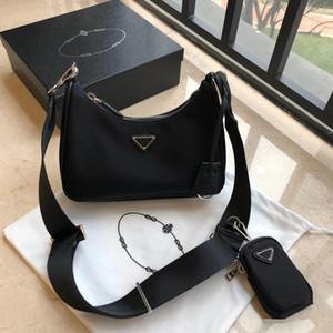 3pieces / set qulity Réédition 2005 hobo Sac à main des femmes sac à bandoulière à l'épaule pour les femmes sac à main chaînes sac fourre-tout dame poitrine