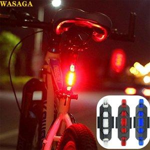 Bicicleta Seatpost lâmpada de cauda Aviso Luz LED Safety Lamp bicicleta traseiro Luz Noite de equitação flash Bike Cycling Acessórios