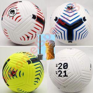 Club League 2020 2021 Taille 5 ballons de soccer balle belle de haute qualité match de liga Premer 20 21 balles de football (PSIR les balles sans air)
