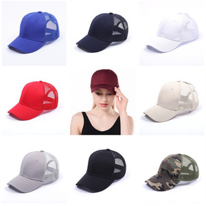Fashion Unisex Baseball Caps Summer Men Women Visor Sunhat Casquette Snapbacks Hats Outdoors Travel Sports Sun Hats Top Quality 15 Color