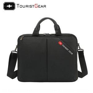 iSTXJ Swiss cross saber bag fashion popular laptop bag multi-functional notebook Shoulder strap notebook business shoulder crossbody briefca