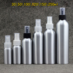 30ml / 50ml / 100ml / 120ml / 150ml bewegliches Aluminiumspray Leere Flaschen Parfüm nachfüllbar Pumpzerstäuber Mist Reise Makeup Container