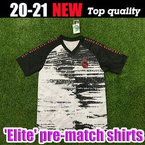 20 21 REAL MADRID 'Elite' chemises pré-match 2020 2021 SOCCER MAILLOTS RISQUE DE FORMATION T-SHIRT PRE MATCH DE FOOTBALL JERSEY