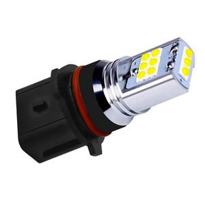 2pcs New P13W Super Bright 1800lm Cree Chip LED voiture diurne lumière anti-brouillard lampe jaune blanc automatique à l'avant DRL Ampoule de conduite