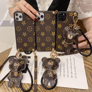 Popular and novel, exquisite PU leather LU phone case for iPhone X S R 7 8 plus 11 12 pro MAX