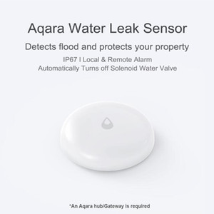 Youpin Original Aqara Water Immersing Sensor Flood Water Leak Detector Waterproof App Smart Remote Control Smart Home Security 3002258