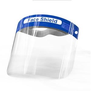 Visiera Maschera di isolamento anti-fog maschere di protezione completa con la fascia elastica spugna fascia di protezione Anti Splash Guards viso LJJP88