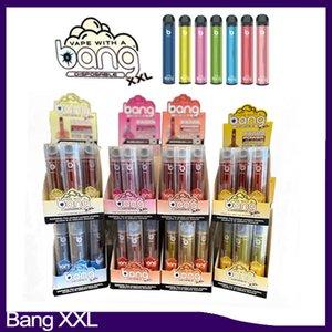 Взрывы XXL Одноразового Vapes Pen устройство 800mAh Аккумуляторы 6ml Бобы Пустых Испарения 2000 пуфы Банг XXtra Kit VS Puff XXL Банг XL Xtra